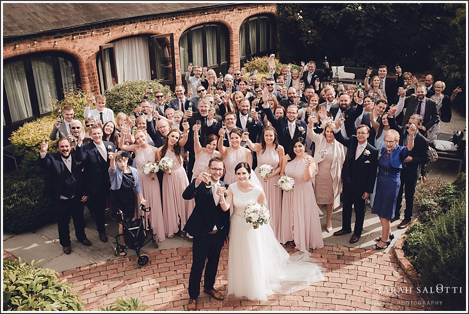 Dodmoor House in Northamptonshire Wedding | Amy & Alex