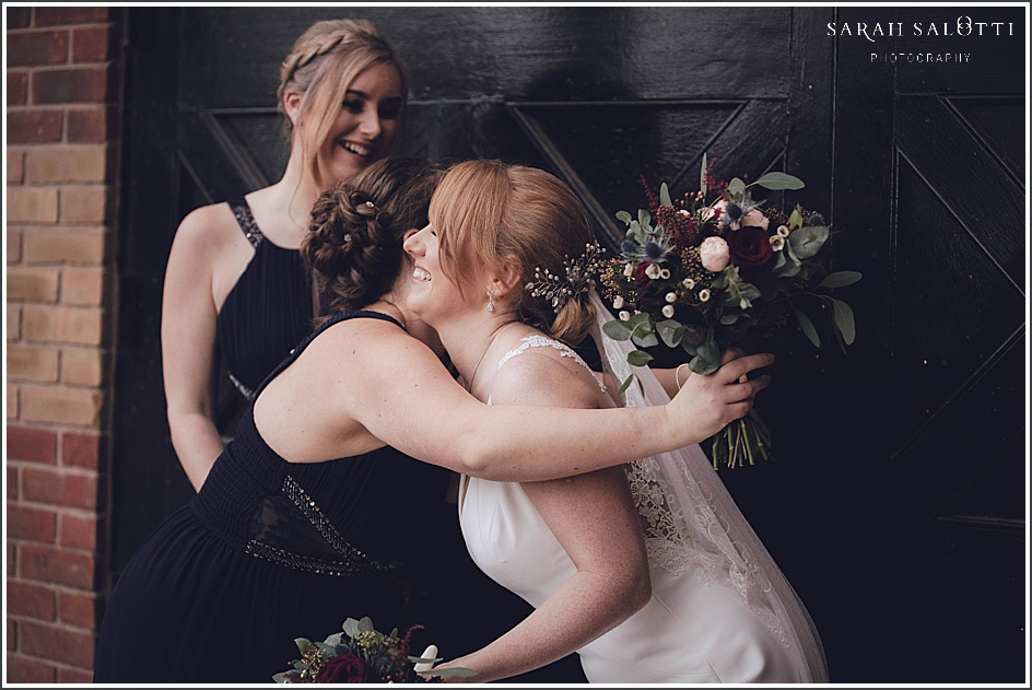 Oulton Hall in Leeds Winter Wedding | Fiona & Steven