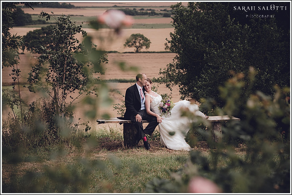 Marquee wedding at home in Hough on the Hill, Lincolnshire | Verity + Nick